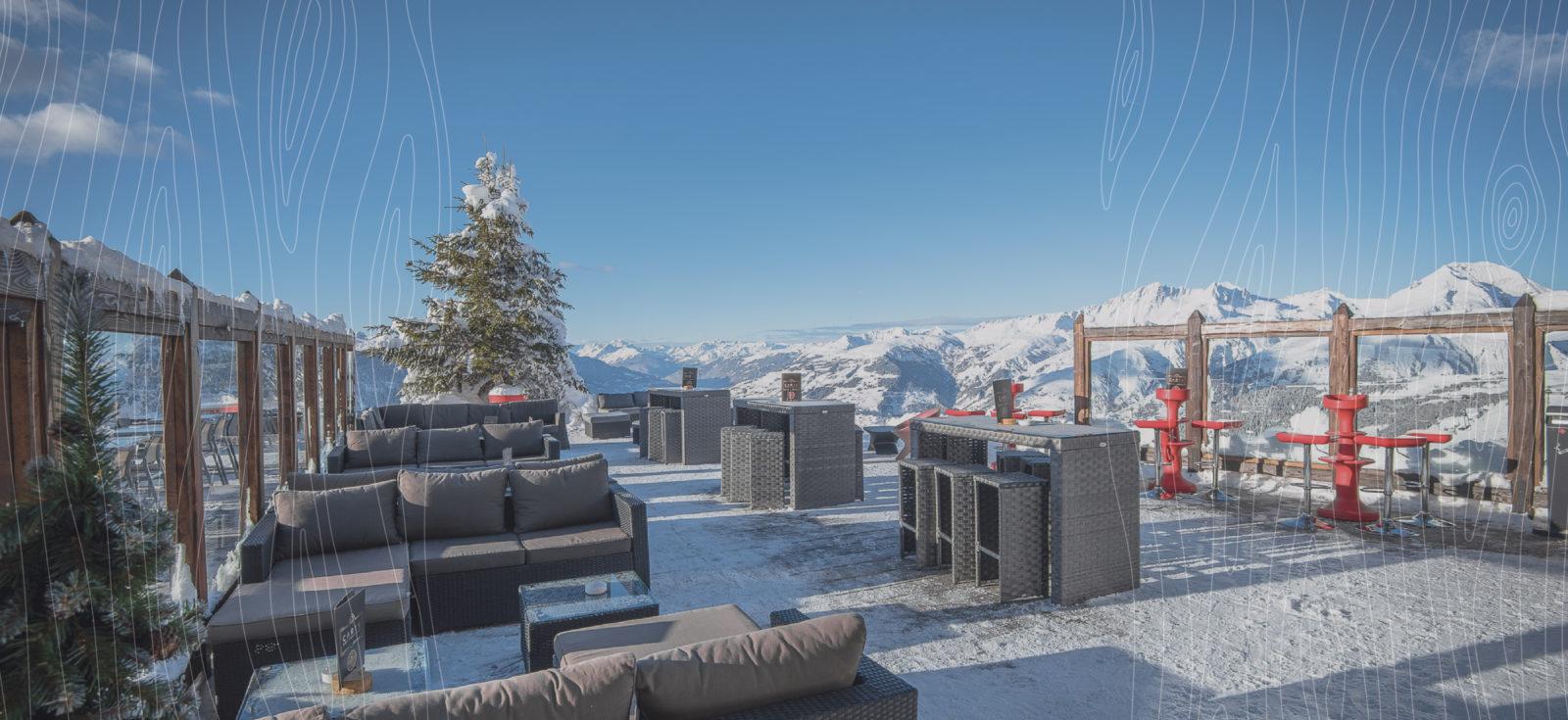 terrasse enneigée antigel